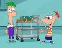 Phineas et Ferb : Perry a disparu. - La laverie diabolique