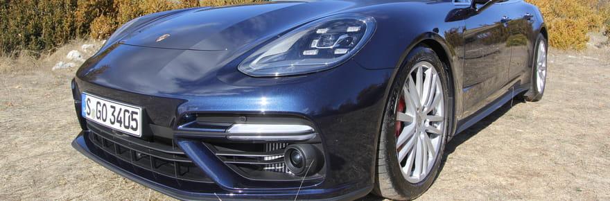 Essai Porsche PanameraSport Turismo: le break sportif et de luxe