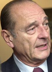 jacques chirac, cinquième président de la ve république.