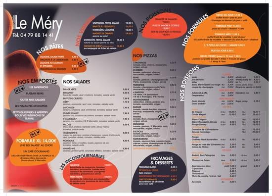 Bar Restaurant le Mery  - Set carte brasserie -   © Nathalie G