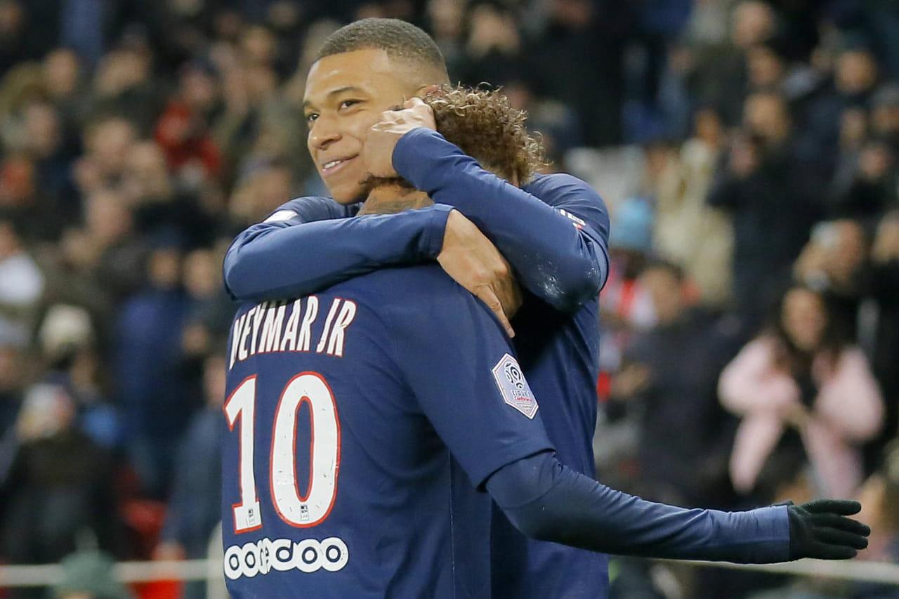 PSG - Nantes: Mbappé et Neymar font gagner Paris, le résumé du match