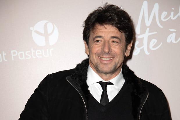 Le chanteur et acteur Patrick Bruel