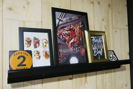 Restaurant : The Ranch  - the ranch bar à viandes halal Paris -   © The Ranch