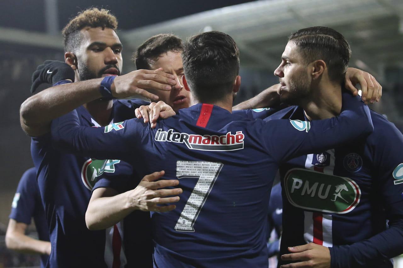 Coupe de France. Pau - PSG: victoire tranquille de Paris, le résumé du match