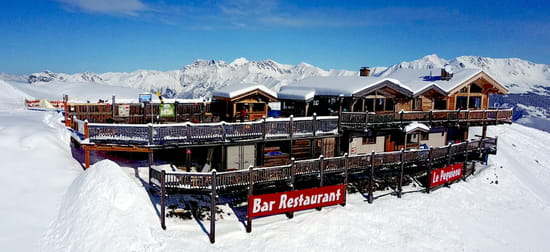 Restaurant : Restaurant d'Altitude Le Peguieou  - Restaurant d'altitude Le Peguieou à Pra-Loup -   © fc