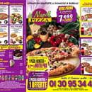 Plat : Di Napoli Pizza  - Menu -   © Photo du menu