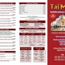 Bar Restaurant Taj Mahal   © Carte