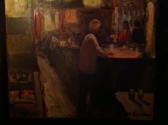 La Charrette  - Tableau du bar au calme -   © clemvint6@hotmail.fr