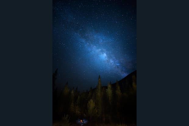 La Voie Lactée du Colorado