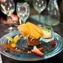 L'Etoile Restaurant  - Fondant au chocolat dans sa feuille de brick -   © Cyril Kagan