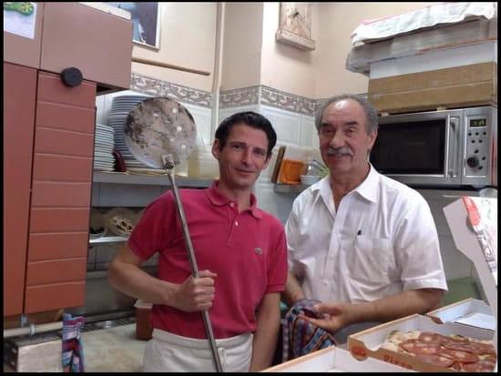 Pizz'a l'Ouest  - moi et mon formateur  -   © moi