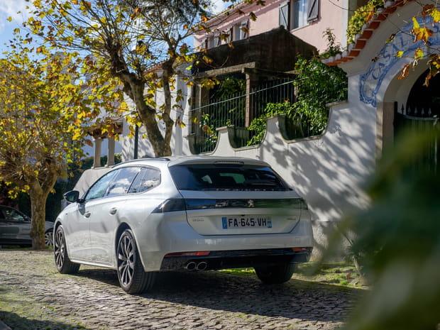 Essai Peugeot 508SW: le break surpasse la berline, va-t-il séduire?