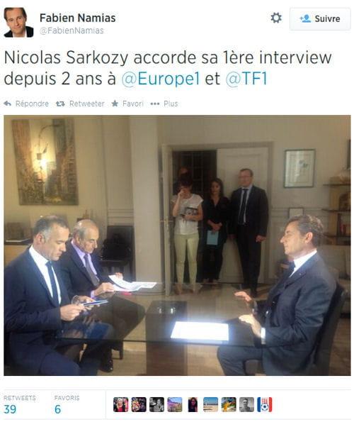sarkozy interview tf1