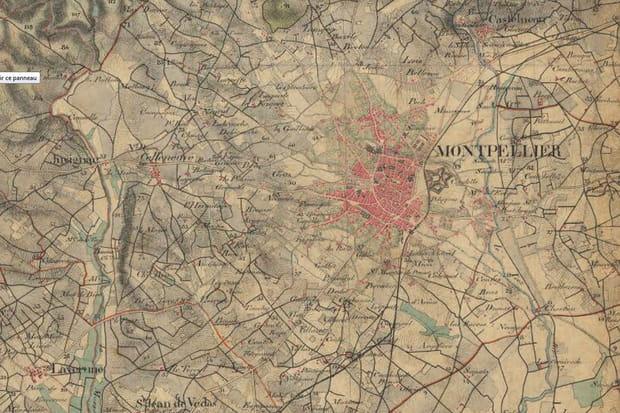 Montpellier, années 1860