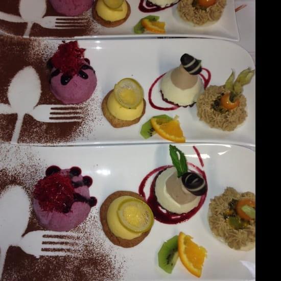 Dessert : La Marigotière Traiteur  - Trilogie du palais -