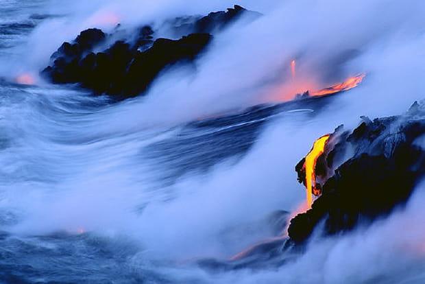 Images de la nature en colère