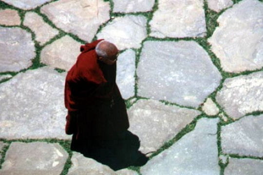 Moine tibétain du Sichuan