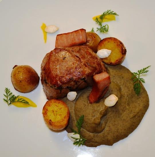 Restaurant la Couleuvrine  - Pavé de veau -   © La Couleuvrine