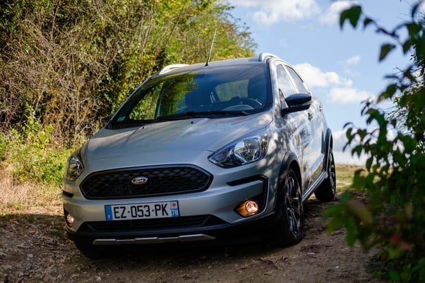 Ford transforme sa Ka+ en mini-SUV