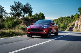 Les photos de l'Aston Martin DBX