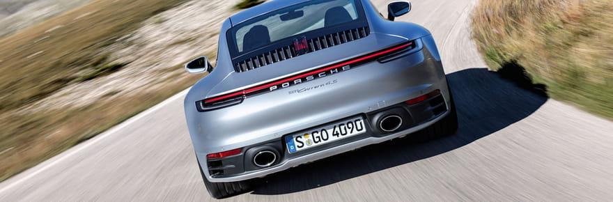 Les photos officielles de la nouvelle Porsche 911