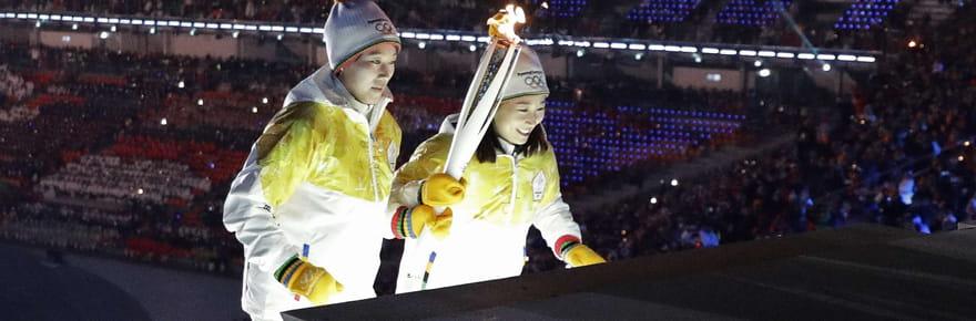 PHOTOS - Les moments forts de la cérémonie d'ouverture des JO