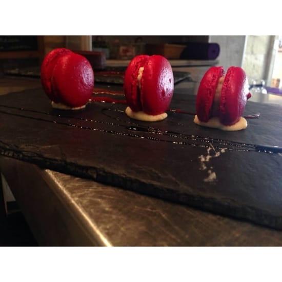 Dessert : Restaurant l' Ecrin  - Macaron maison du chef de L'Ecrin  -