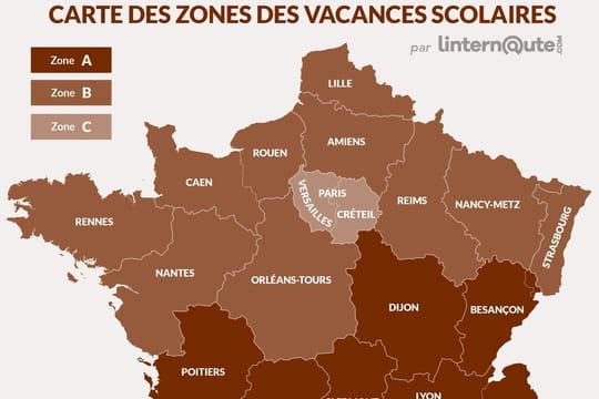 Vacances scolaires 2019 les dates par zone calendrier - Les vacances de la toussaint 2020 ...