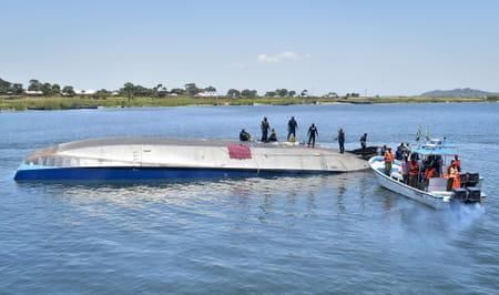 Naufrage ferry en Tanzanie