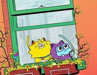 Carrément chat : Joyeux anniver-terre. - Le retour de Zaxos