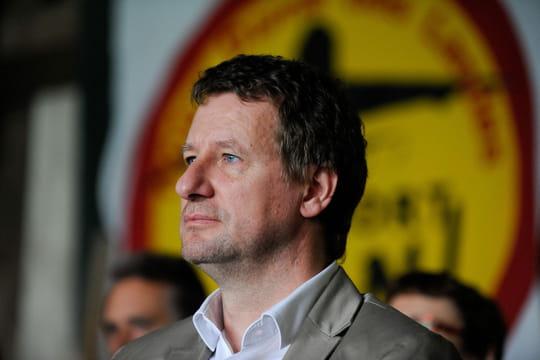 Yannick Jadot vainqueur de la primaire EELV et candidat à la présidentielle 2017
