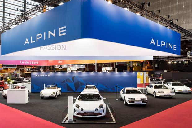 L'Alpine Vision bien entourée