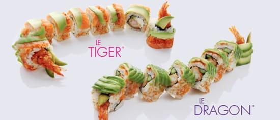 Pur Sushi Cergy  - Tigre & Dragon -   © Pur Sushi