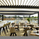 Restaurant : New Lodge  - Notre véranda -   © Restaurant New Lodge