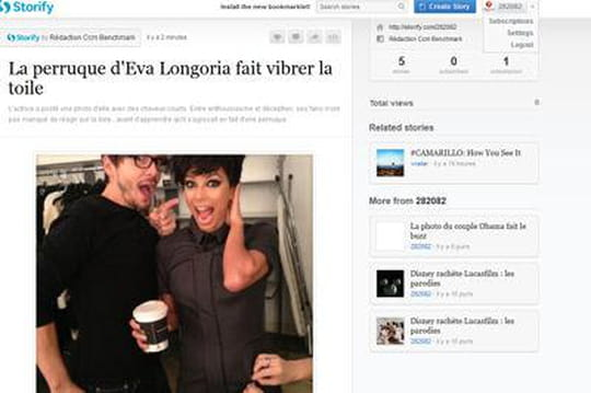 Eva Longoria: sa perruque a fait laune