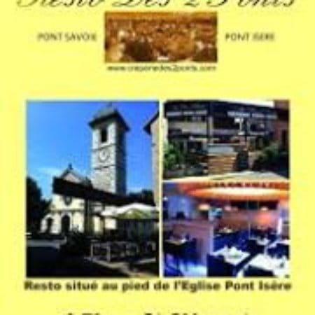 Restaurant : Resto des 2 Ponts   © prive