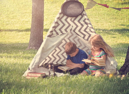 Tipi: comment fabriquer une tente d'indien
