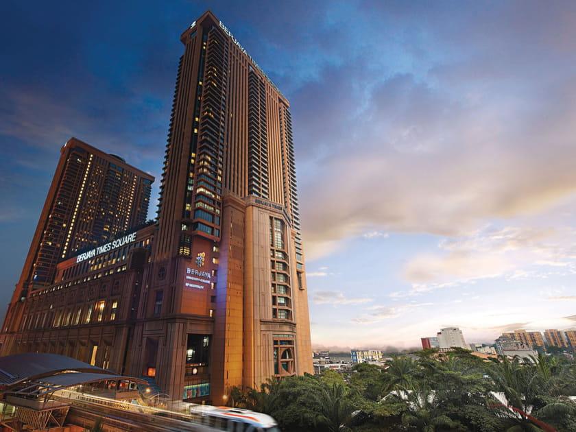 Le Berjaya Times Square à Kuala Lumpur