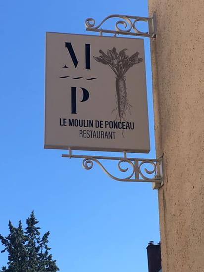 Restaurant : Le Moulin de Ponceau  - Enseigne -   © Le moulin de ponceau