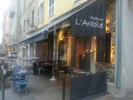 Restaurant : L'Ardoise