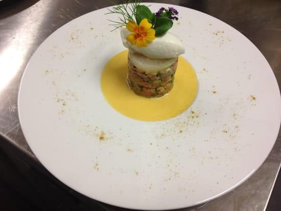 L'Eveil des Sens  - le tartare de saumon à la citronnelle -