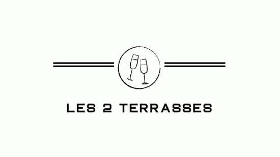 Restaurant : Les 2 Terrasses  - Notre Logo -   © Les 2 Terrasses