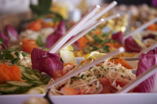 La Perelle  - Buffet midi -   © Family resort La Perelle