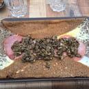 Plat : Le Veryach  - Galette au blé noir : à l'anglaise (champignons en supplément) -