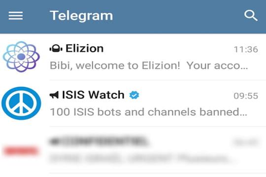 """Telegram: 10questions qui se posent sur """"l'application des jihadistes"""""""