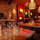 Restaurant : Le Jardin des Secrets  - La sale du restaurant -