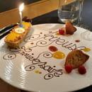 Dessert : Restaurant Le Lumière - Hôtel Scribe Paris  - Une surprise -