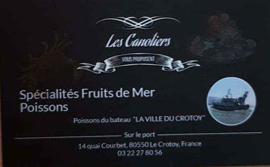 Café des Canotiers   © Restaurant les canotiers