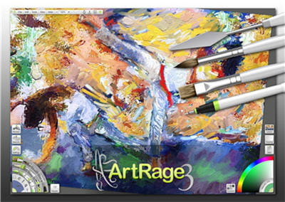 artrage studio pro est un logiciel de peinture numérique très puissant.