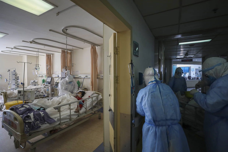 Nombre de décès quotidien au plus bas en Chine — Coronavirus